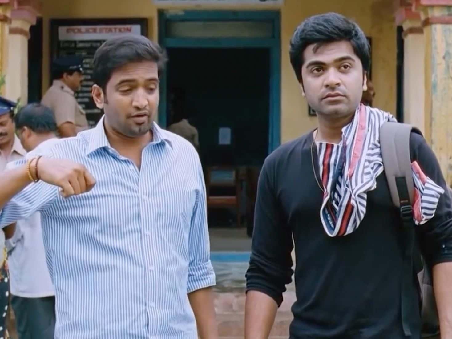 Vaalu police station comedy scene | Santhanam